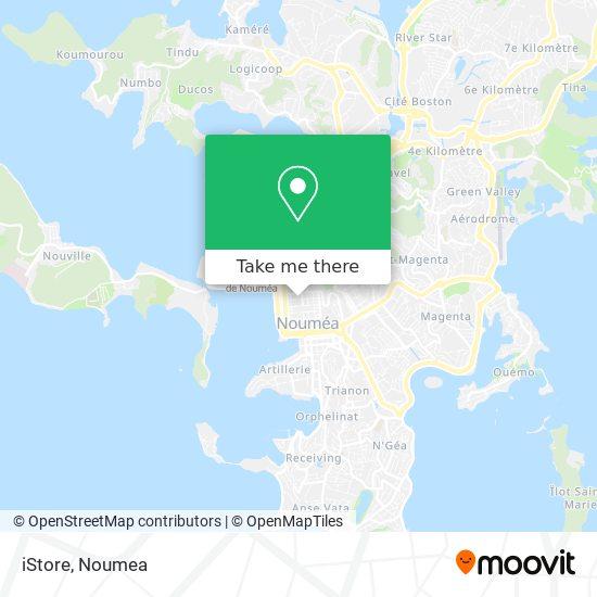 iStore map