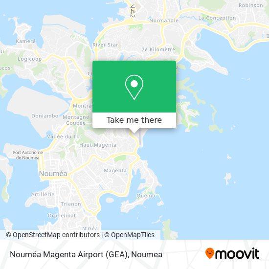Nouméa Magenta Airport (GEA) map