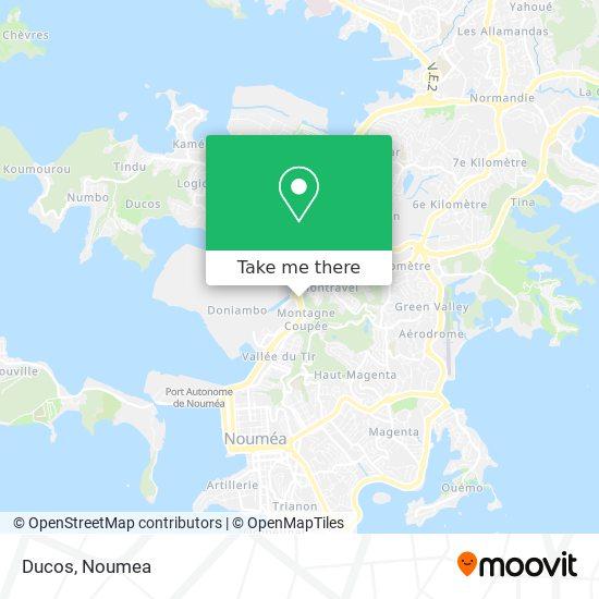Ducos map