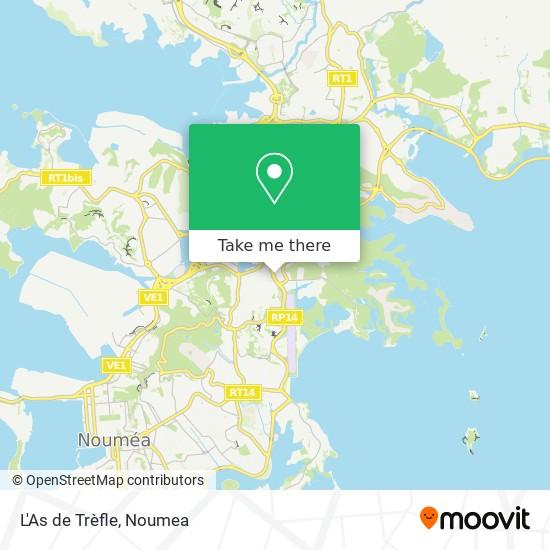 L'As de Trèfle map