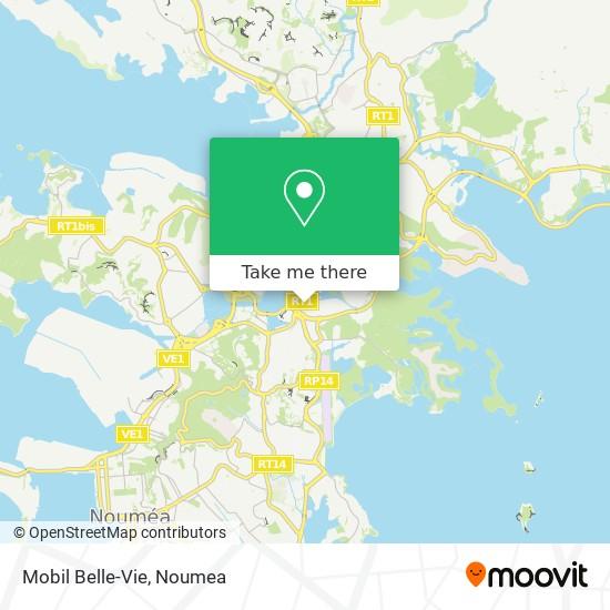 Mobil Belle-Vie map