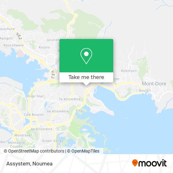 Assystem map