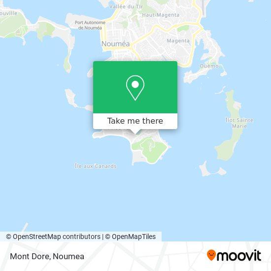 Mont Dore map
