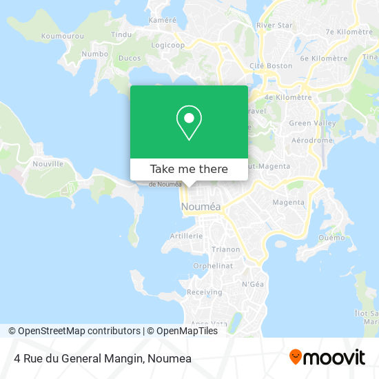 4 Rue du General Mangin map