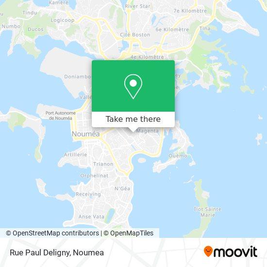Rue Paul Deligny map