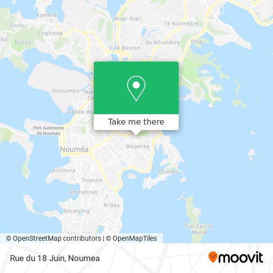 Rue du 18 Juin map