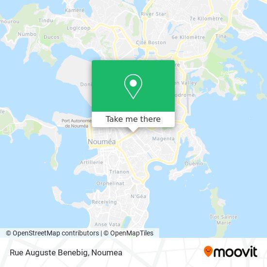 Rue Auguste Benebig map