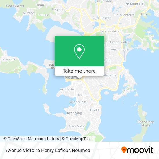 Avenue Victoire Henry Lafleur map