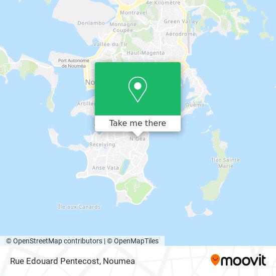 Rue Edouard Pentecost map