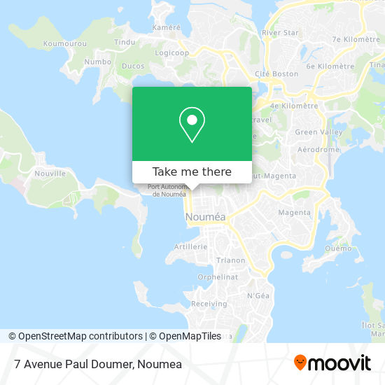 7 Avenue Paul Doumer map
