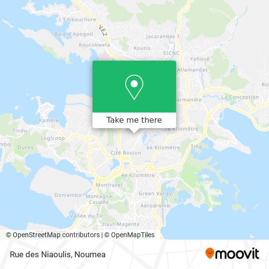 Rue des Niaoulis map