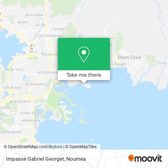 Impasse Gabriel Georget map