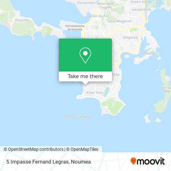 5 Impasse Fernand Legras map