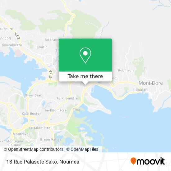 13 Rue Palasete Sako map