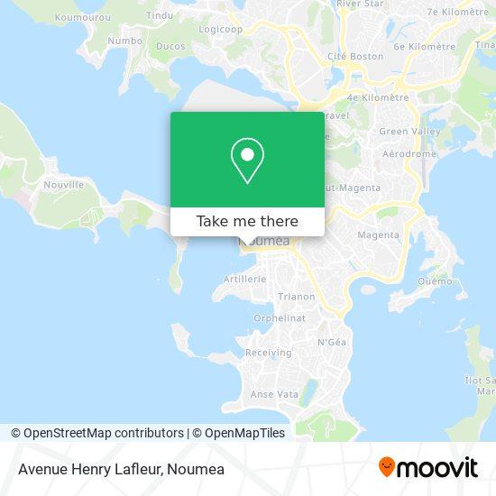 Avenue Henry Lafleur map