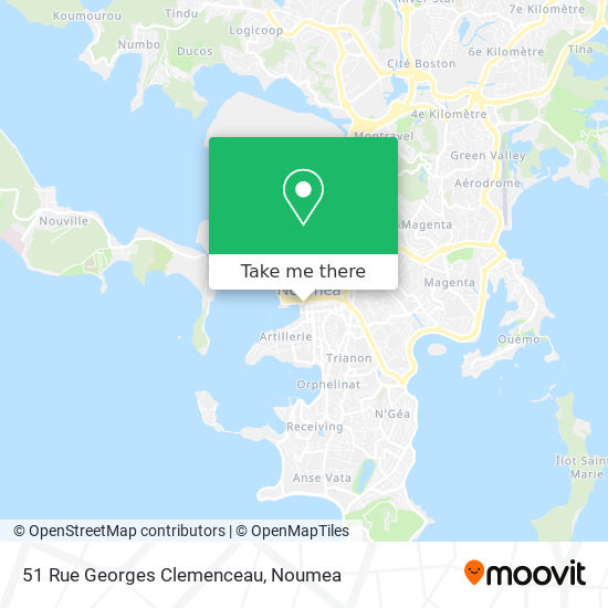 51 Rue Georges Clemenceau map