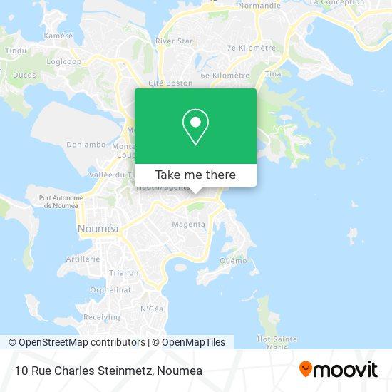 10 Rue Charles Steinmetz map