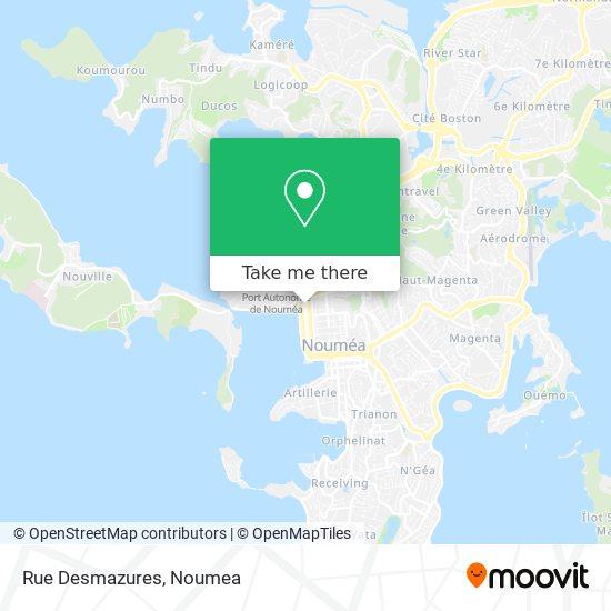 Rue Desmazures map