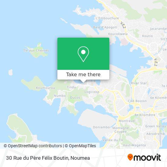 30 Rue du Père Félix Boutin map