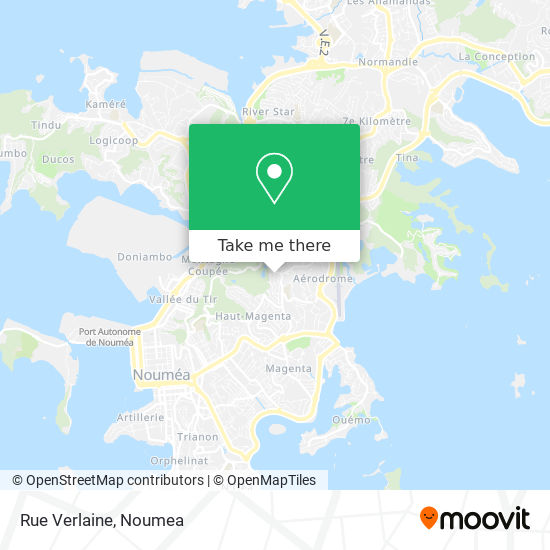 Rue Verlaine map
