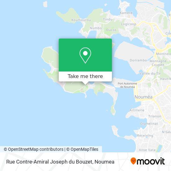 Rue Contre-Amiral Joseph du Bouzet map