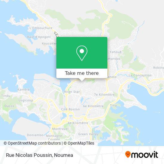 Rue Nicolas Poussin map