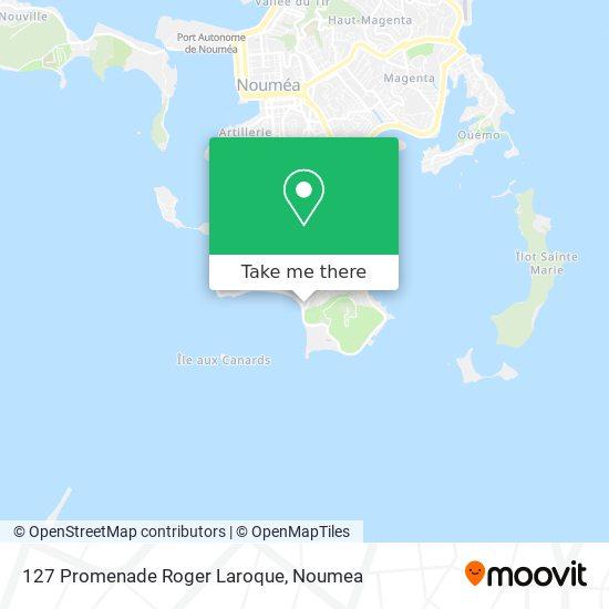 127 Promenade Roger Laroque map