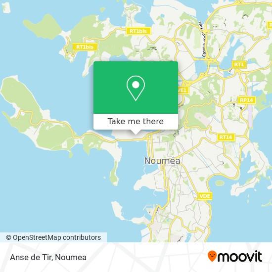 Anse de Tir map
