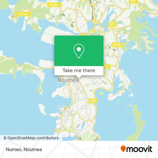 Numeo map