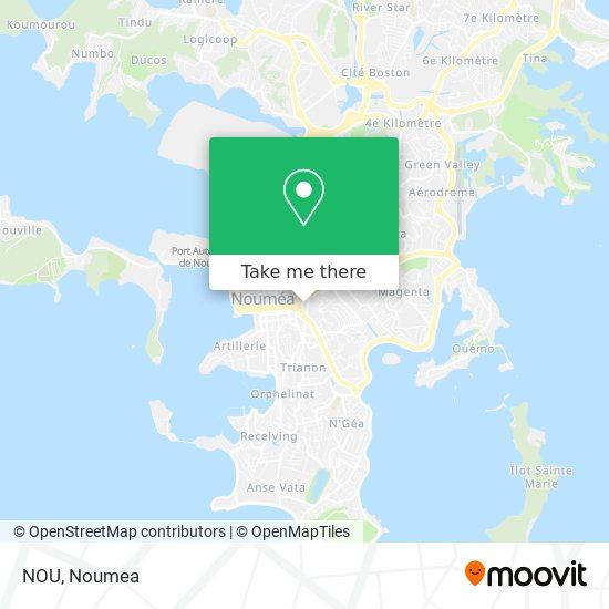 NOU map