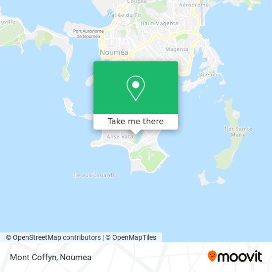 Mont Coffyn map