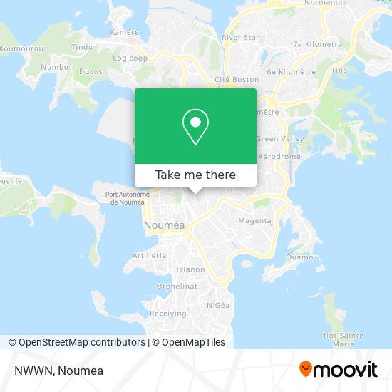 NWWN map