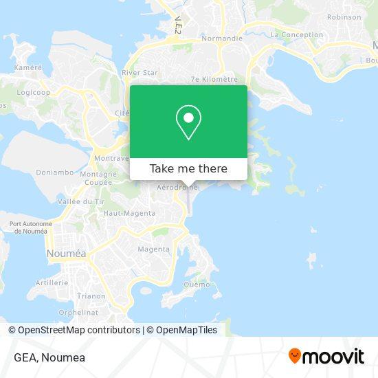 GEA map