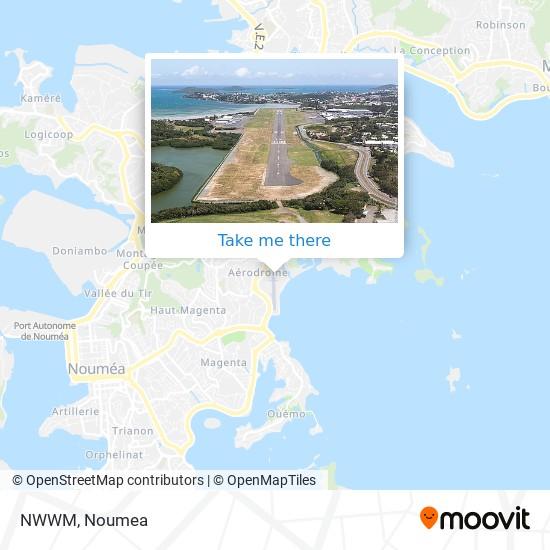 NWWM map
