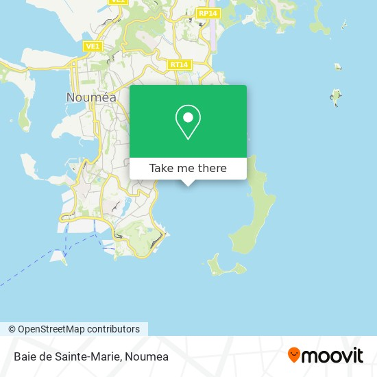 Baie de Sainte-Marie map