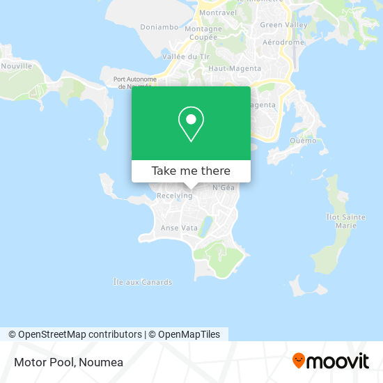 Motor Pool map