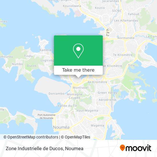Zone Industrielle de Ducos map