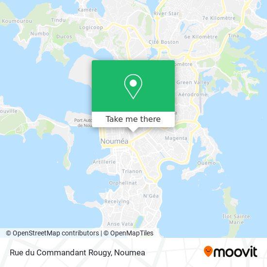 Rue du Commandant Rougy map