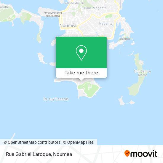 Rue Gabriel Laroque map
