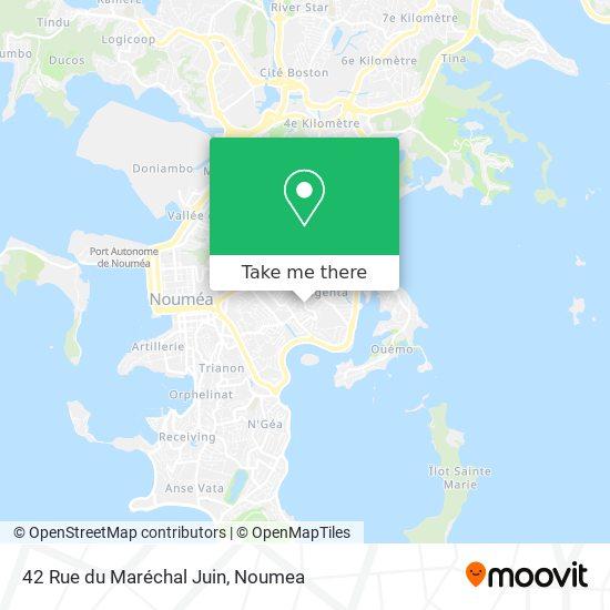 42 Rue du Maréchal Juin map