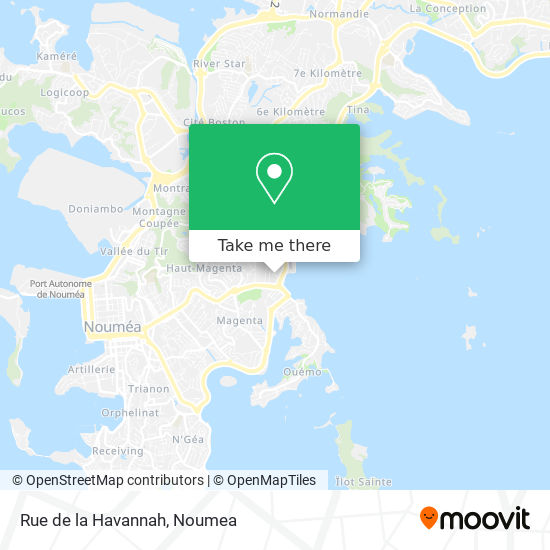 Rue de la Havannah map
