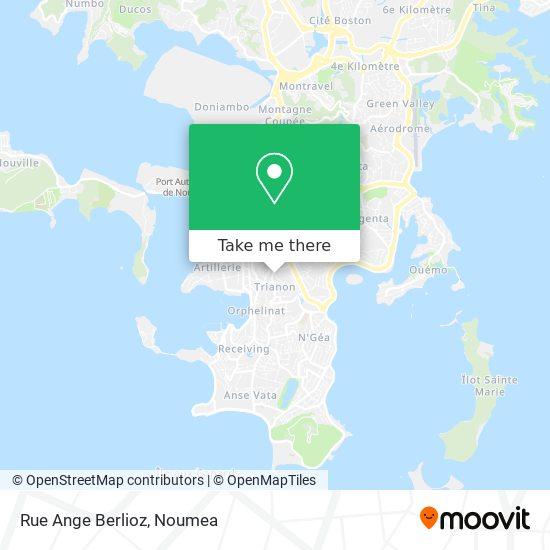 Rue Ange Berlioz map