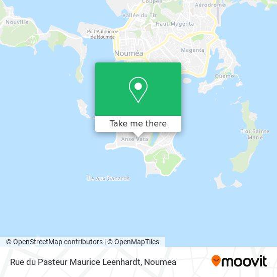 Rue du Pasteur Maurice Leenhardt map