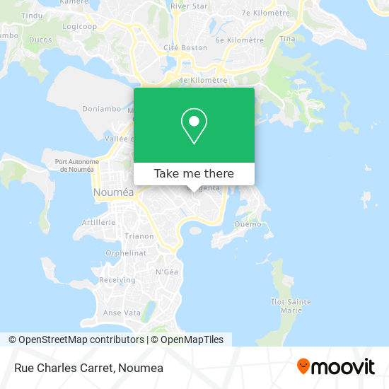 Rue Charles Carret map