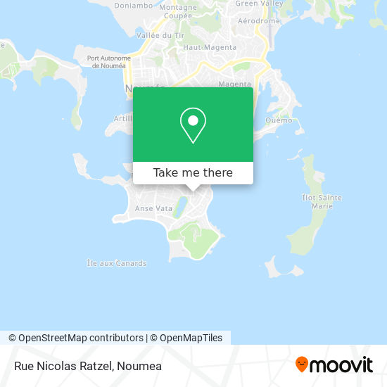 Rue Nicolas Ratzel map