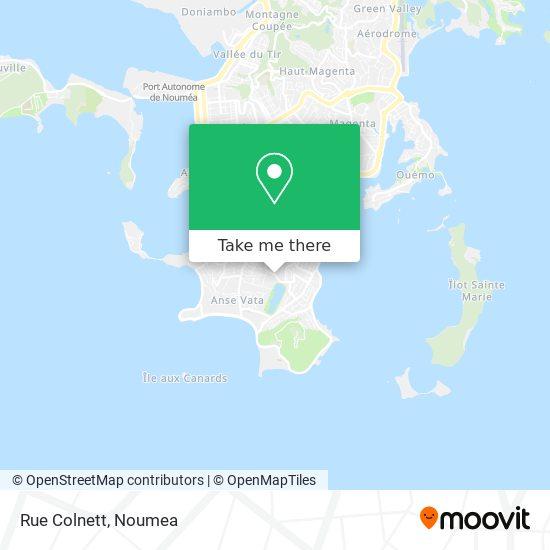 Rue Colnett map