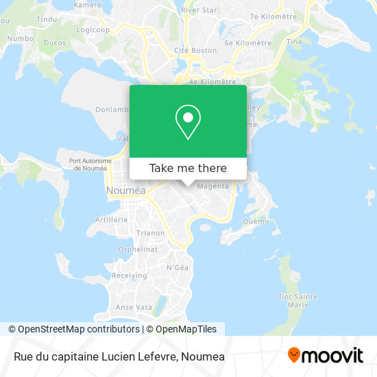 Rue du capitaine Lucien Lefevre map