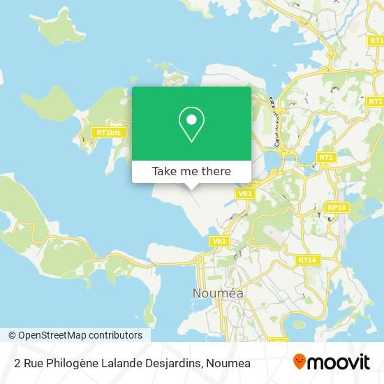 2 Rue Philogène Lalande Desjardins map