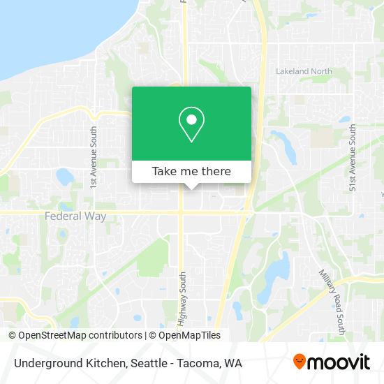 How To Get To Underground Kitchen In Federal Way By Bus Moovit