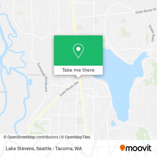 Mapa de Lake Stevens